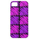 Squiggles Rosado-n-Púrpuras iPhone 5 Case-Mate Carcasas