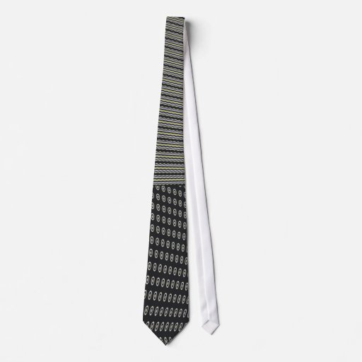 Squiggly Dots Tie