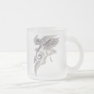 Squiggly Frosted Mug