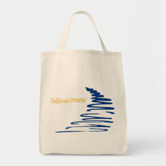 Squiggly Lines_California Dreamin' bag
