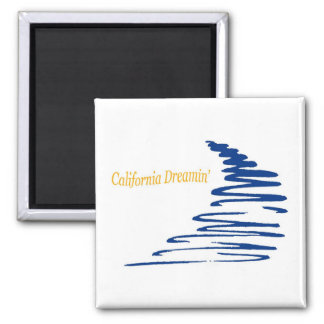 Squiggly Lines_California Dreamin' magnet