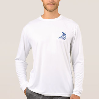 Squiggly Lines _Go with the flow_Squiggle only T-Shirt