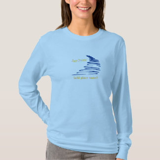 Squiggly Lines_Just Cruisin' (gold font) template T-Shirt