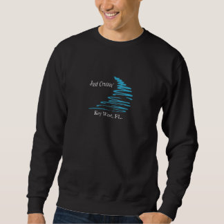 Squiggly Lines_Just Cruisin'_Key West, FL. Pullover Sweatshirts