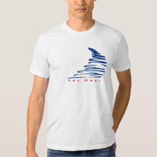 Squiggly Lines_Key West t-shirt