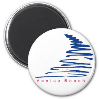 Squiggly Lines_Venice Beach magnet