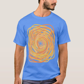 squiggly spiral of love and uncertainty T-Shirt