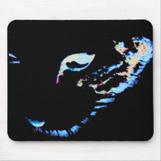 Squiggy Black Mouse Pad