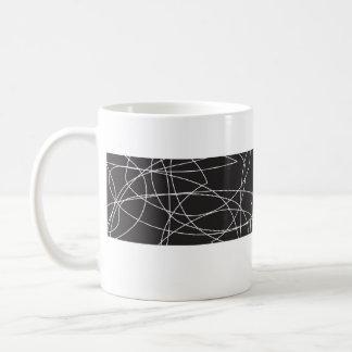 squiggy black mug