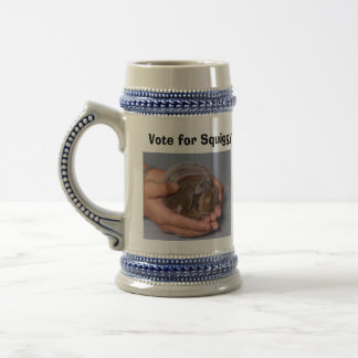 Squiggy Campaign Stein Coffee Mugs