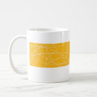 squiggy yellow mug
