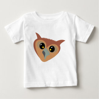 Squint-eyed Owl Baby T-Shirt