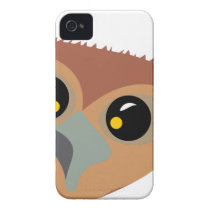 Squint-eyed Owl Case-Mate iPhone 4 Case