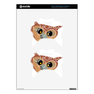 Squint-eyed Owl Xbox 360 Controller Decal