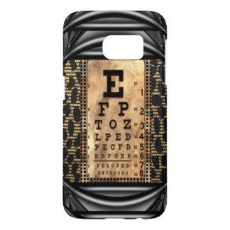 Squint Vintage IV Eye Chart Cool Samsung Galaxy S7 Case