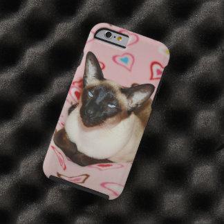 Squinting Siamese Cat Tough iPhone 6 Case