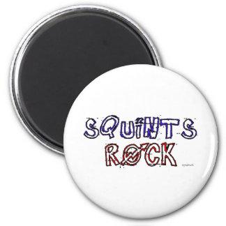 Squints Rock! Magnet