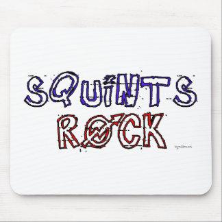 Squints Rock! Mouse Pad