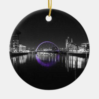 Squinty Bridge Selective Ceramic Ornament