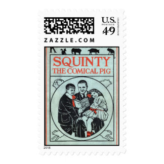Squinty Postage Stamp Sheet