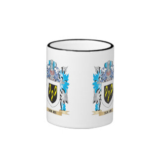 Squire Coat of Arms - Family Crest Ringer Coffee Mug