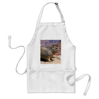 Squirel at the Grand Canyon Adult Apron