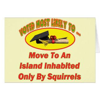 Squirel Island Card