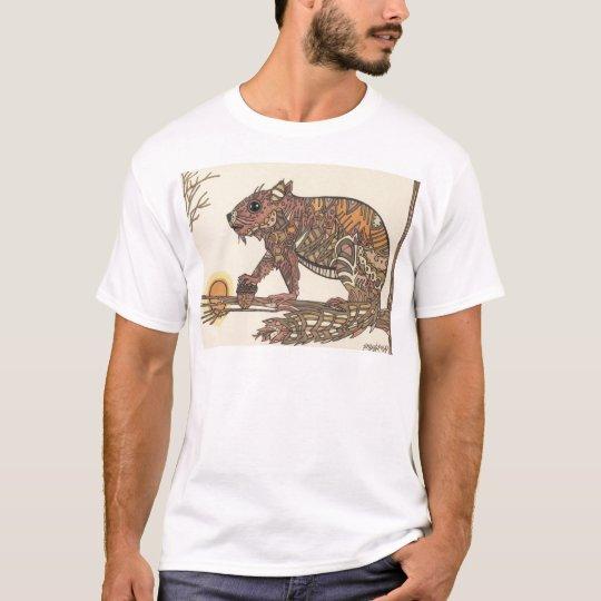 Squirell- Artwork by Sally Stevens T-Shirt