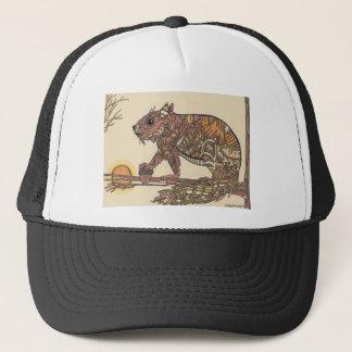 Squirell- Artwork by Sally Stevens Trucker Hat