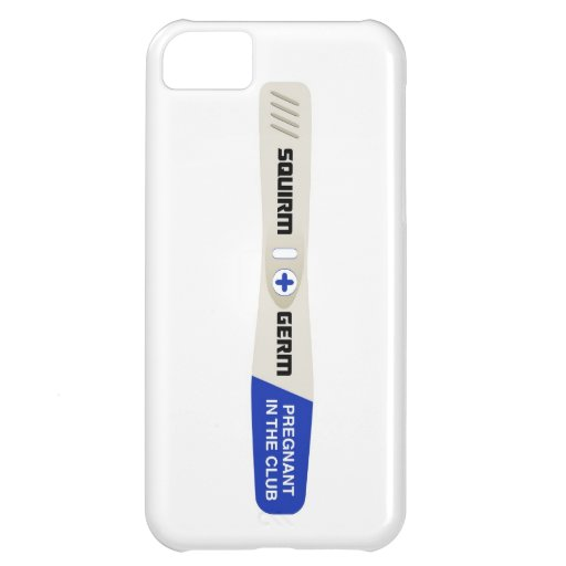 Squirm and Germ Pregnancy Test iPhone 5 Case