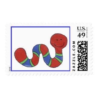 Squirmy Worm Stamp
