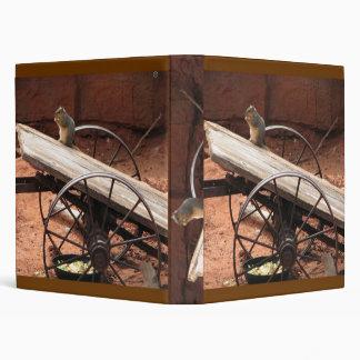 squirrel 3 ring binder