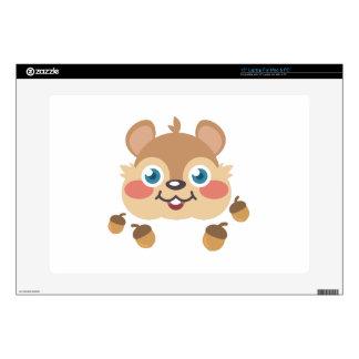 Squirrel & Acorns Decals For Laptops