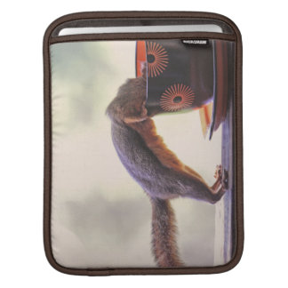 Squirrel and Coffee Cup iPad Sleeve