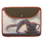 Squirrel and Coffee Cup Sleeves For MacBook Pro