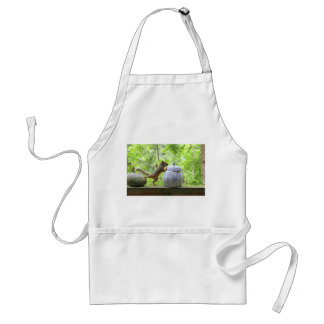 Squirrel and Cookie Jar Adult Apron