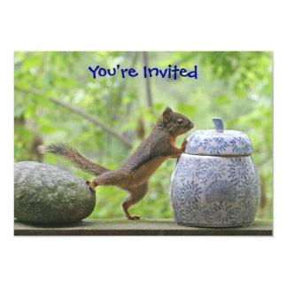 Squirrel and Cookie Jar Card