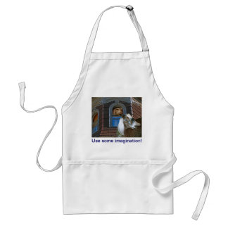 Squirrel and Goat Friends Adult Apron