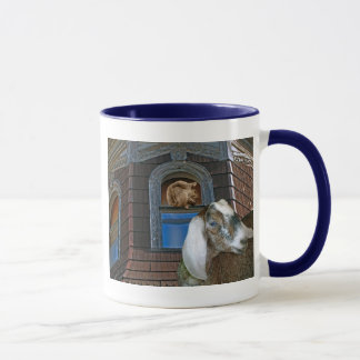 Squirrel and Goat Friends Mug