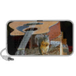 Squirrel and Guitar Mp3 Speakers
