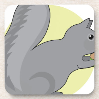 Squirrel and Nut Drink Coaster