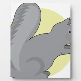 Squirrel and Nut Plaque
