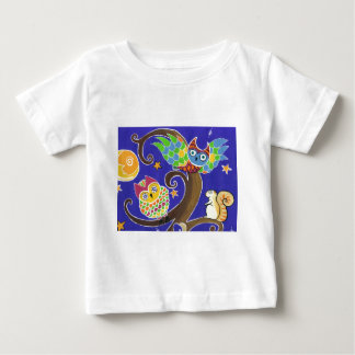 squirrel and owls t shirt