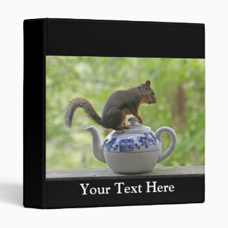 Squirrel and Teapot Binders