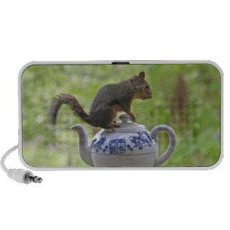 Squirrel and Teapot Speaker