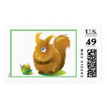 Squirrel and the Nut Postage
