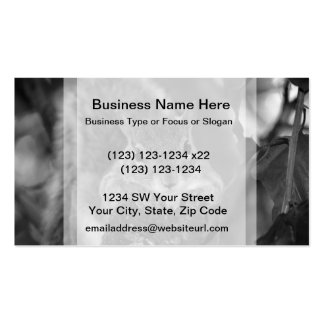 squirrel animal on log hanging out bw Double-Sided standard business cards (Pack of 100)