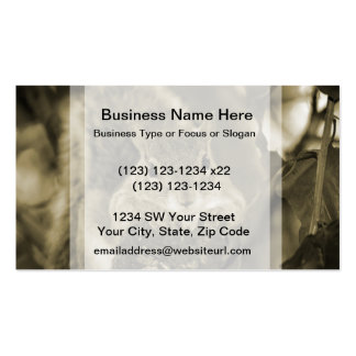 squirrel animal on log hanging out sepia Double-Sided standard business cards (Pack of 100)