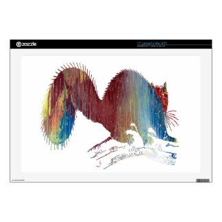 Squirrel art skin for laptop