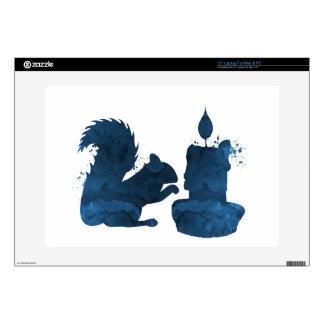 Squirrel art skins for laptops